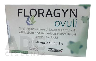 FLORAGYN vaginálne čapíky