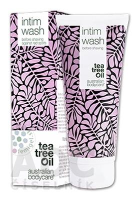 ABC tea tree oil INTIM WASH - Intímny mycí gél