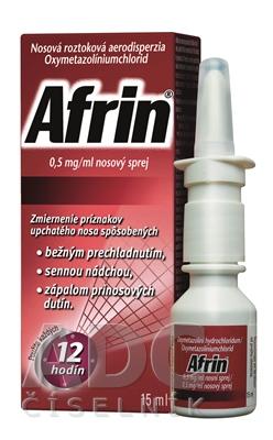 Afrin 0,5 mg/ml nosový sprej