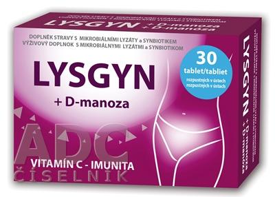 LYSGYN + D-manóza