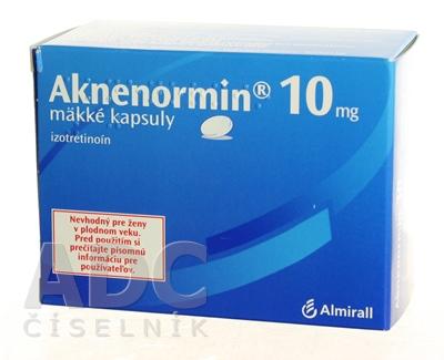 AKNENORMIN 10 mg