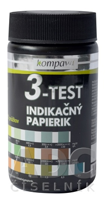 kompava 3-TEST  INDIKAČNÝ PAPIERIK