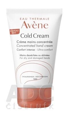 AVENE COLD CREAM CRÈME MAINS CONCENTRÉE (inovácia)