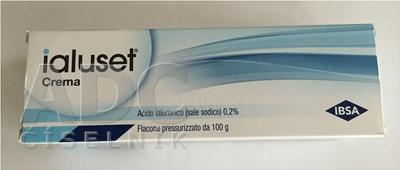 iALUSET krém s obsahom 0,2% hyaluronátu sodného