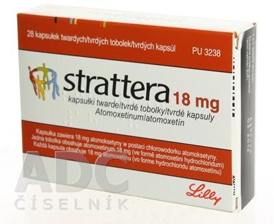 STRATTERA 18 mg