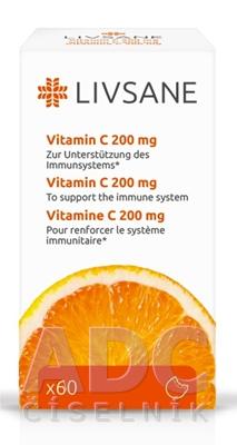 LIVSANE Vitamín C 200 mg