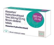 Irbesartan/Hydrochlorothiazid Teva 300 mg/25 mg