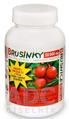 NATURVITA BRUSNICE 20 000 mg