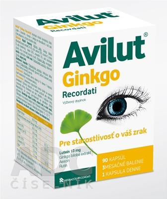 AVILUT Ginkgo Recordati