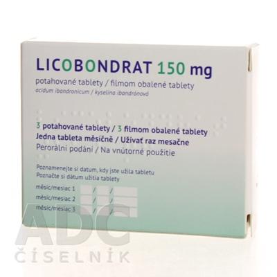 LICOBONDRAT 150 mg