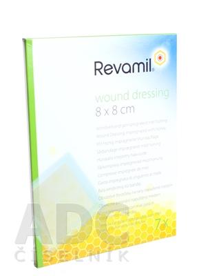 Revamil wound dressing 8x8 cm