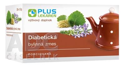 PLUS LEKÁREŇ Diabetická bylinná zmes