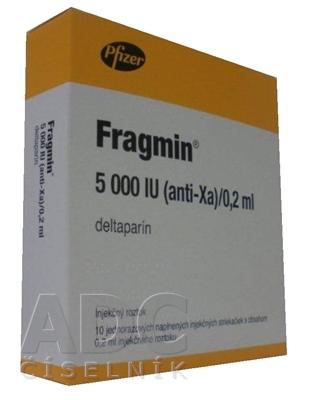 FRAGMIN 5000 IU (anti-Xa)/0,2 ml