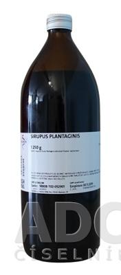 Sirupus plantaginis - FAGRON