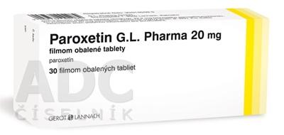 Paroxetin G.L. Pharma 20 mg