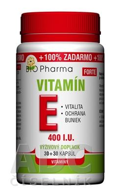BIO Pharma Vitamín E FORTE 400 I.U