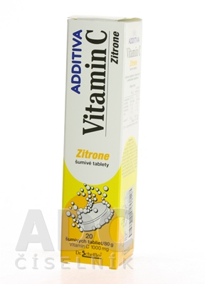 ADDITIVA VITAMÍN C 1000 mg Zitrone
