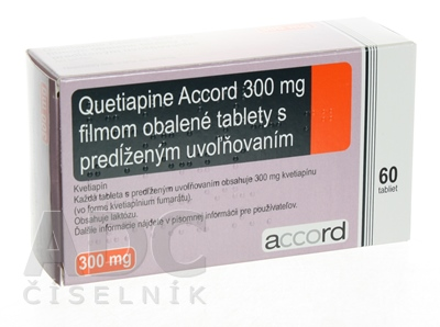 Quetiapine Accord 300 mg