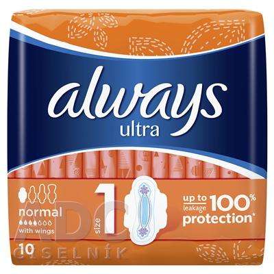 ALWAYS ULTRA NORMAL PLUS 10