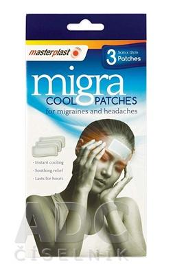 masterplast Migra Cool chladivá náplasť