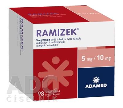 RAMIZEK 5 mg/10 mg tvrdé kapsuly