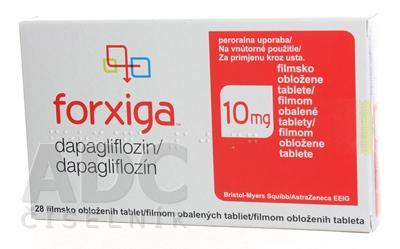 Forxiga 10 mg filmom obalené tablety