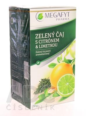 MEGAFYT ZELENÝ ČAJ s citrónom & limetkou