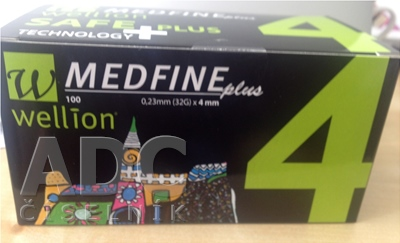 Wellion MEDFINE plus Penneedles 4 mm