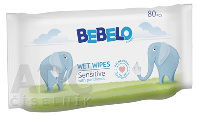 BEBELO WET WIPES Sensitive