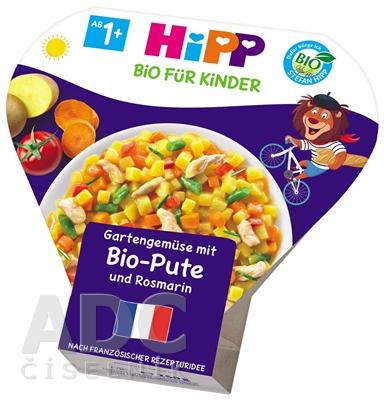 HIPP BIO Zelenina zo záhradky s BIO morčacím mäsom