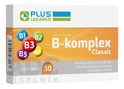 PLUS LEKÁREŇ B-komplex Classic