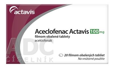 Aceclofenac Actavis 100 mg
