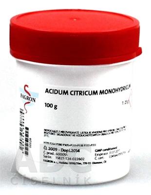Acidum citricum monohydricum - FAGRON