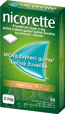 Nicorette Freshfruit Gum 2 mg