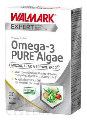 WALMARK Omega-3 PURE Algae