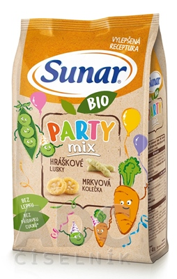 Sunar BIO Chrumky Party mix