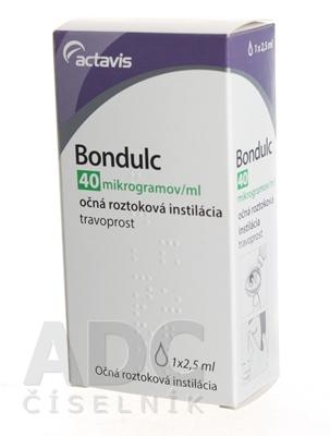 Bondulc 40 mikrogramov/ml