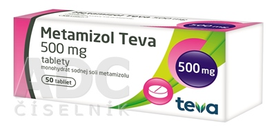 Metamizol Teva 500 mg tablety