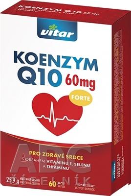 VITAR KOENZYM Q10 FORTE 60 mg