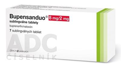 Bupensanduo 8 mg/2 mg sublingválne tablety