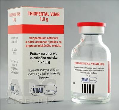 Thiopental VUAB 1,0 g