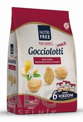 NutriFree Gocciolotti snack