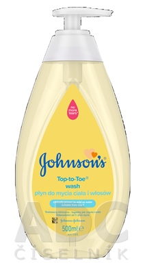Johnson's Umývací gél na telo a vlásky