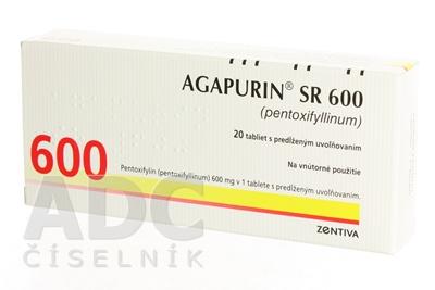 AGAPURIN SR 600
