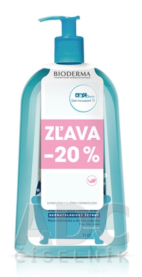 BIODERMA ABCDerm Moussant (AKCIA)