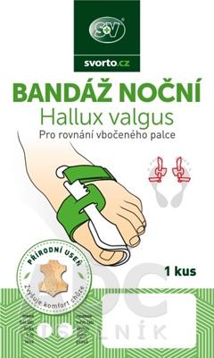 svorto BANDÁŽ NOČNÁ Hallux Valgus 030