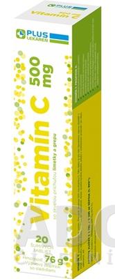 PLUS LEKÁREŇ Vitamín C 500 mg