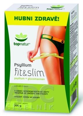 topnatur PSYLLIUM fit & slim krabica