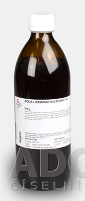 Aqua carminativa rubra - FAGRON