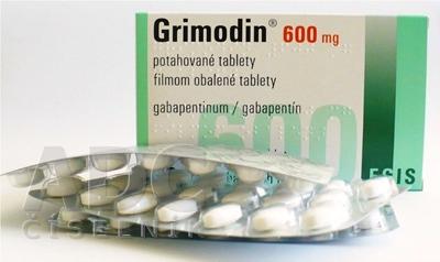 Grimodin 600 mg filmom obalené tablety